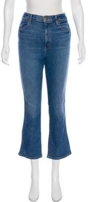 The Great Mid-Rise Straight-Leg Jeans blue Mid-Rise Straight-Leg Jeans