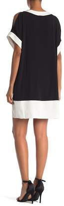 Jones New York Bar Trim Dolman Shift Dress