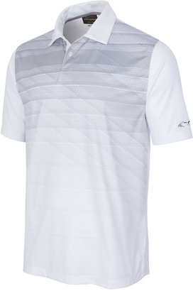 Greg Norman For Tasso Elba Men's Striped Polo, Only at Macy's $55 thestylecure.com