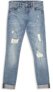 Blank NYC Girl's Folded Cuffs Jeans