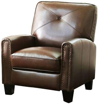 Abbyson Living Catalina Pushback Leather Recliner