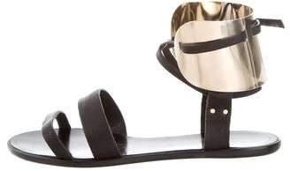 Lanvin Embellished Sandals