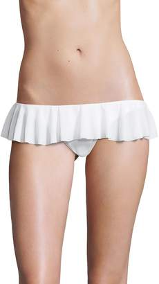 Norma Kamali Women's Ruffle Bikini Bottom