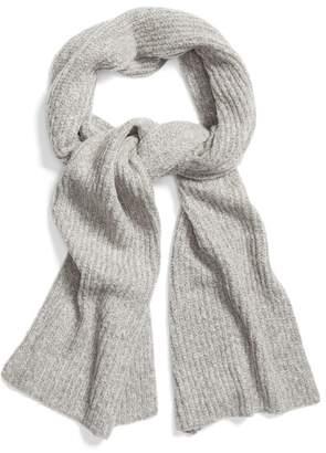 Halogen Ribbed Knit Muffler Scarf