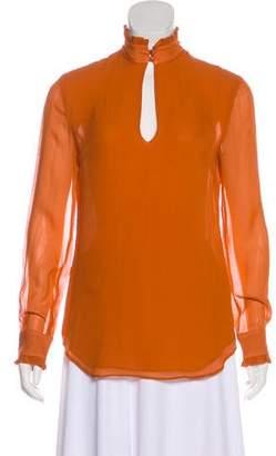 Nicholas Silk Long Sleeve Blouse