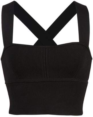 KHAITE fitted cropped tank top