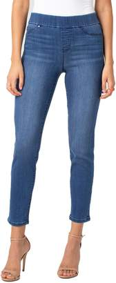 Liverpool Jeans Company Meridith Pull-On Slim Ankle Jeans