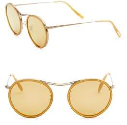 Oliver Peoples 51MM Round Sunglasses