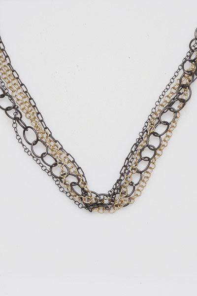 Wasabi 5 Chain Necklace