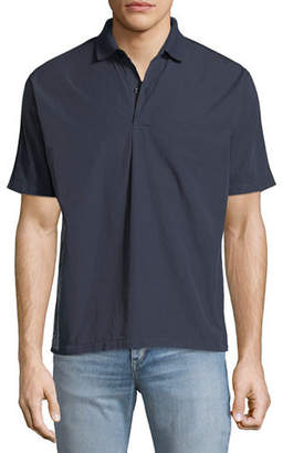 Stone Island Men's Back-Graphic Polo Shirt