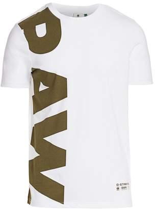 G Star Raw Vertical Logo Tee