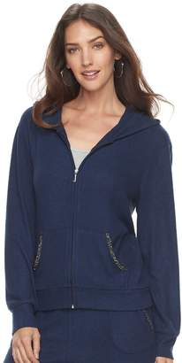 Juicy Couture Women's Embellished Hooded Jacket