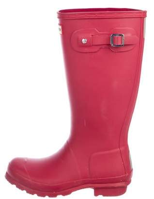 Hunter Rubber Knee-Length Rainboots