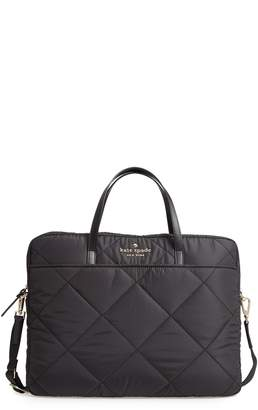Kate Spade Quilted Nylon Universal Laptop Commuter Bag