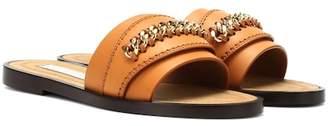 Stella McCartney Falabella faux-leather slides