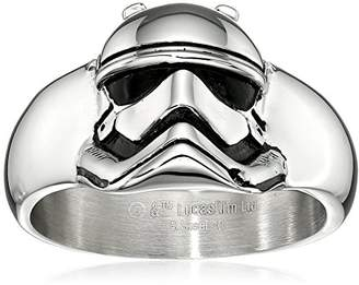 Star Wars Jewelry Episode 7 Stormtrooper Stainless Steel 3D Ring