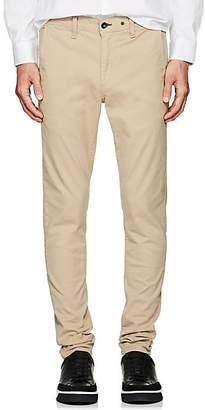 Rag & Bone Men's Fit 1 Standard Issue Stretch-Cotton Chinos - Beige, Tan