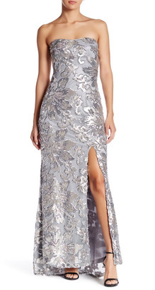 Marina Strapless Sequined Gown $229 thestylecure.com