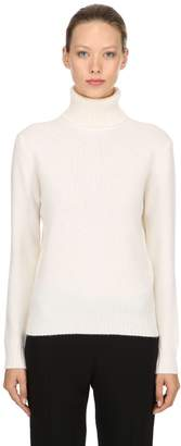 Max Mara Turtleneck Wool & Cashmere Blend Sweater
