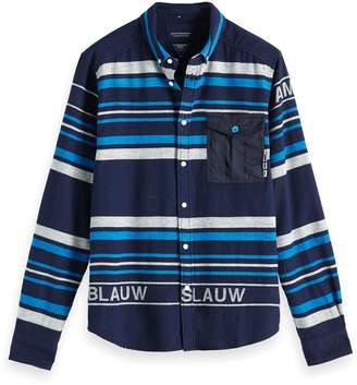 Scotch & Soda Striped Button-Down Shirt