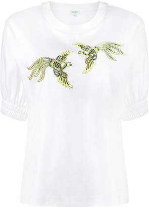 Kenzo bird embroidered top