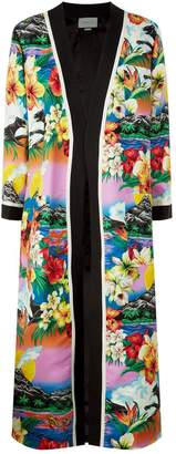 Gucci Hawaiian Print Coat