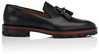 Christian Louboutin Men's Luglion Leather Venetian Loafers