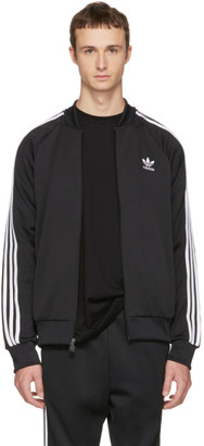 adidas Originals Black Superstar Track Jacket $70 thestylecure.com