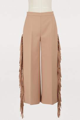 MSGM Fringed pants