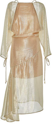 Alice McCall Champers Silk-Blend Gown