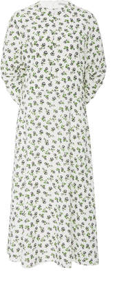 Emilia Wickstead Carmen Floral-Print Dress