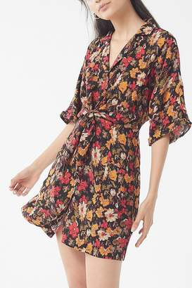 Urban Outfitters Aloha Tie-Front Shirt Dress