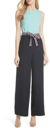 Ted Baker Colour by Numbers Colorblock Jumpsuit