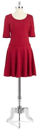 Eliza J Classic Fit and Flare Dress