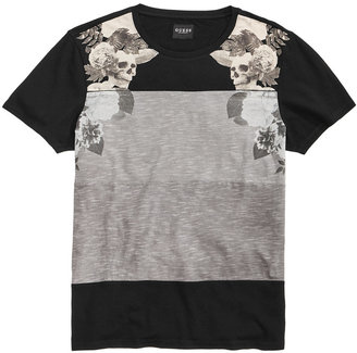 Guess Men's Stream Becklin Floral T-Shirt $39 thestylecure.com