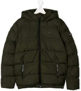 Tommy Hilfiger Junior TEEN hooded padded coat