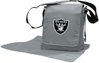 Oakland Raiders Lil' Fan Diaper Messenger Bag