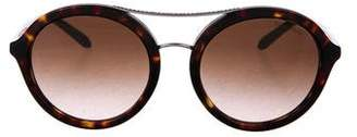Tiffany & Co. Embellished Round Sunglasses