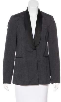 Brunello Cucinelli Wool & Linen-Blend Blazer