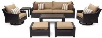 Three Posts Northridge 8 Piece Sofa Set with Cushions