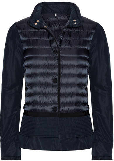 Moncler Moncler - Quilted Shell Down Jacket - Storm blue