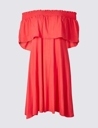 Marks and Spencer Half Sleeve Bardot Dress