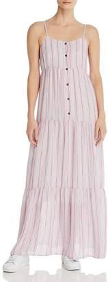Splendid Promenade Tiered Maxi Dress