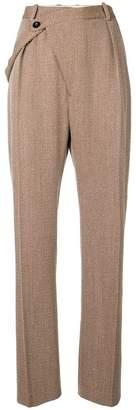 Jil Sander Floyd wrap-front trousers