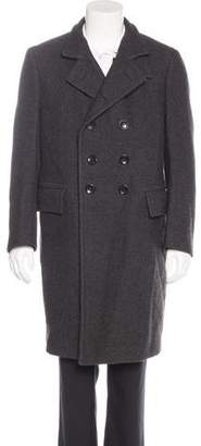 Tom Ford Double-Breasted Wool Overcoat