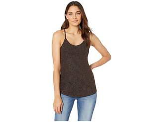 Angie Sparkle Rib Knit Cami Women's Clothing