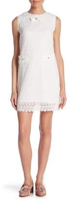 Molly Bracken Eyelet Lace Sleeveless Dress