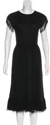 Chanel Paris-Dallas Fringe Dress