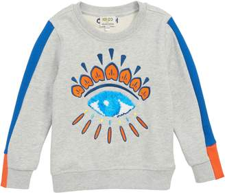 Kenzo Flippable Sequin Eye Sweatshirt