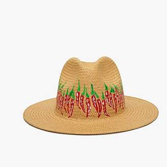 J.Crew Onia Rosa chili Panama hat